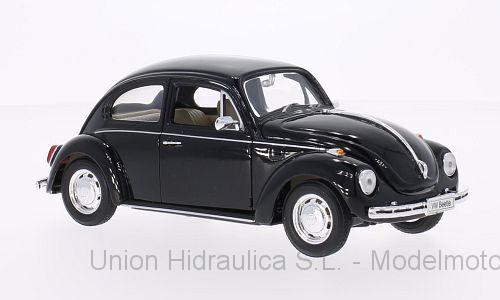 Volkswagen Beetle (1972) Welly 1:24 Negro
