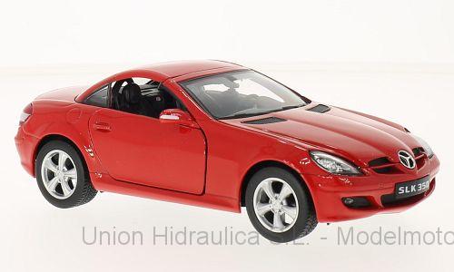Mercedes SLK 350 cerrado -R171- (2004) Welly 1:24 Rojo