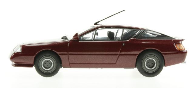 Alpine GT Serie 1 (1984) Eligor 1/43 Rojo Titan