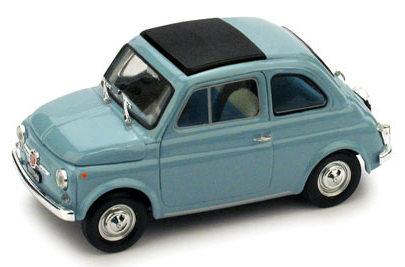 Fiat 500F Techo Cerrado (1965) Brumm 1/43 Azul CLaro
