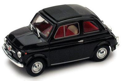 Fiat 500F Techo Cerrado (1965) Brumm 1/43 Marrón