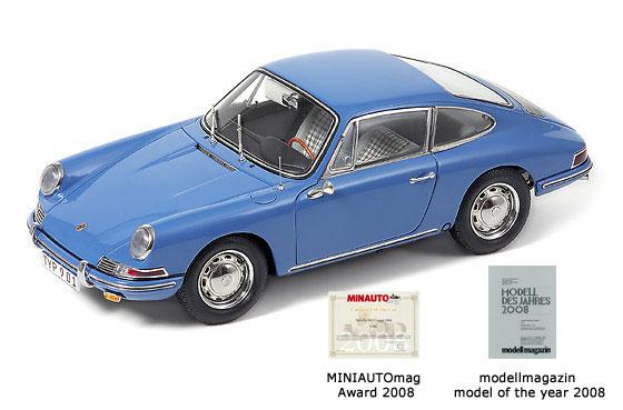 Porsche 901 Coupé (1964) CMC 1/18 Azul Sky