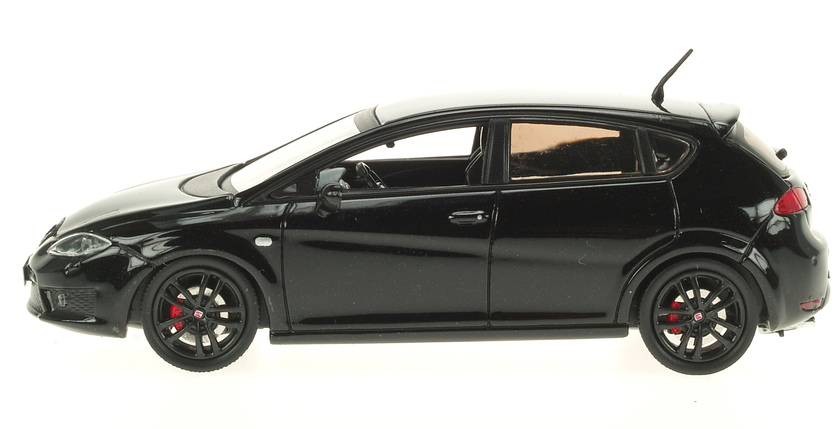 Seat Leon Cupra R Serie 2 (2009) AF 1/43 Negro