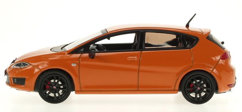 Seat Leon Cupra R Serie 2 (2009) AF 1/43 Naranja Metalizado