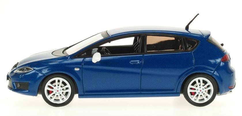 Seat Leon Cupra R Serie 2 (2009) AF 1/43 Azul Metalizado