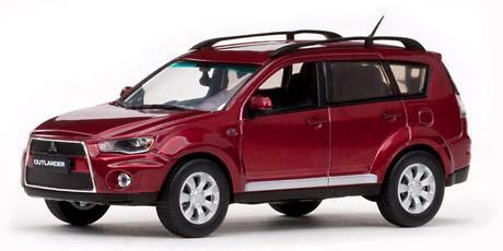 Mitsubishi New Outlander (2011) Vitesse 1/43 Rojo Metalizado