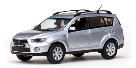 Mitsubishi New Outlander (2011) Vitesse 1/43 Gris Metalizado