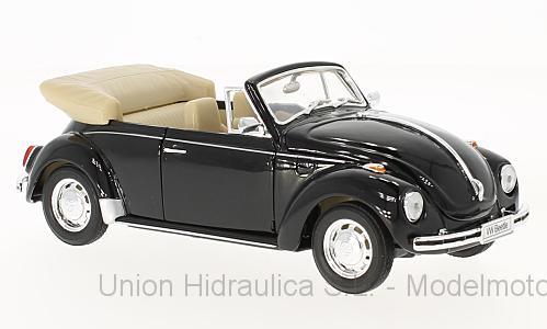 Volkswagen Escarabajo Cabriolet (1959) Welly 1:24 Negro