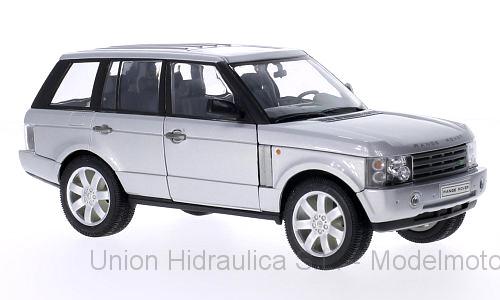 Range Rover Serie III (2002) Welly 1:24 Gris Metalizado