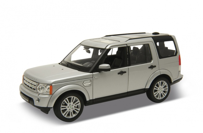 Land Rover Discovery Serie IV (2010) Welly 1:24 Gris Metalizado