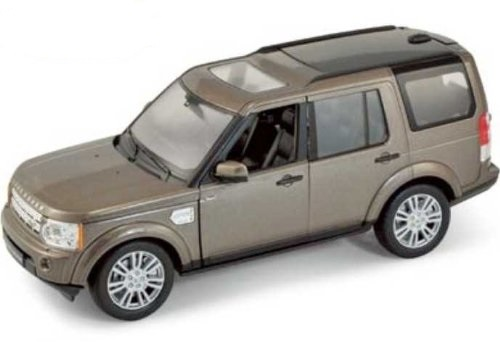 Land Rover Discovery Serie IV (2010) Welly 1:24 Marrón metalizado