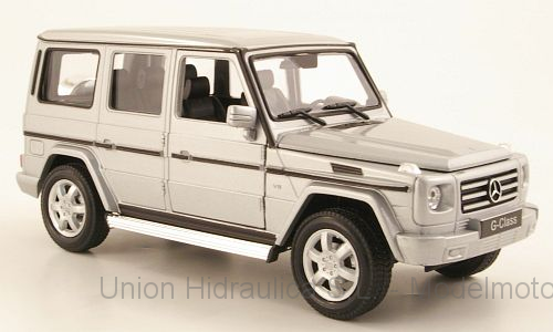 Mercedes Benz G -W463- (2006) Welly 1:24 Gris Metalizado