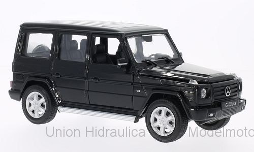 Mercedes Benz G -W463- (2006) Welly 1:24 Negro