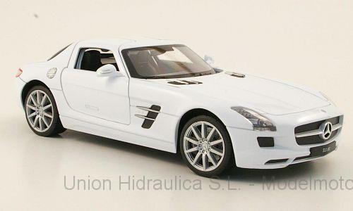 Mercedes SLS AMG -C197- (2012) Welly 1:24 Blanco