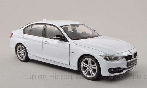 BMW 335i -F30- (2013) Welly 1:24 Blanco