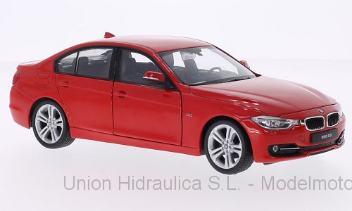 BMW 335i -F30- (2013) Welly 1:24 Rojo