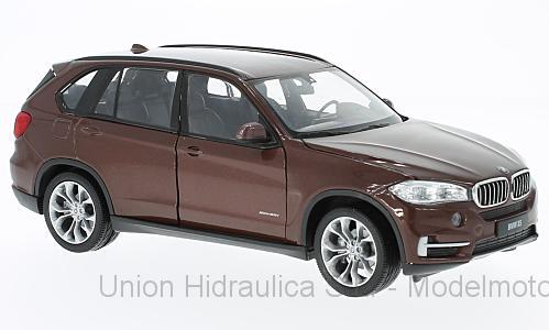 BMW X5 -E70- (2006) Welly 1:24 Marrón metalizado