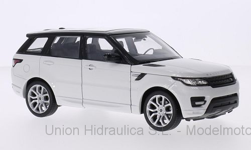 Range Rover Sport (2005) Welly 1:24 Blanco
