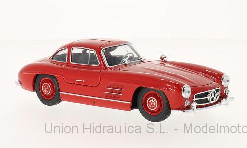 Mercedes 300 SL -W198- (1954) Welly 1:24 Rojo