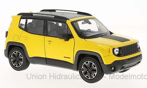 Jeep Renegade Trailhawk (2014) Welly 1:24 Amarillo Pedido Cursado al Fabricante