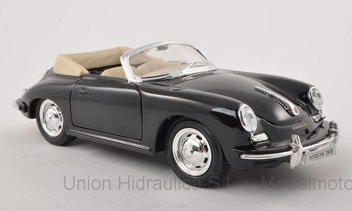 Porsche 356B (1959) Welly 1:24 Negro