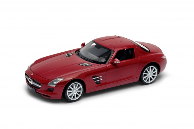 Mercedes SLS AMG -C197- (2012) Welly 1:24 Rojo