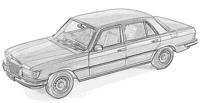 (1972-80) W116