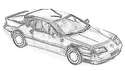 Alpine A610/GT-A (1986-91)