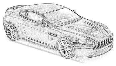 Aston Martin V8-V12 Vantage