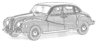 BMW 501/502 (1952-62)