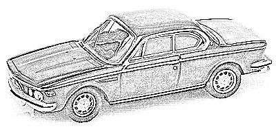 BMW E9 (1969-75)