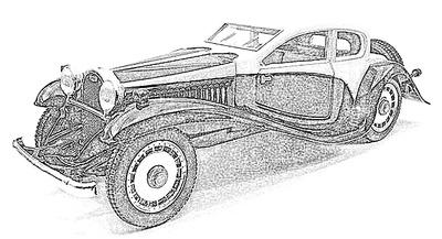 Bugatti Tipo 50