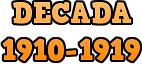 Década 1910-1919