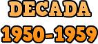 Década 1950-1959