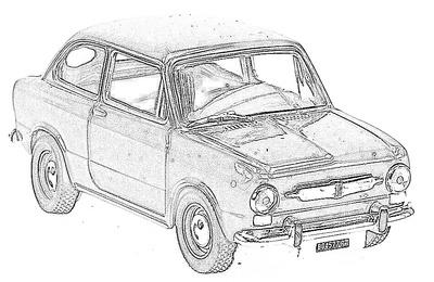 Fiat 850 (1964-71)