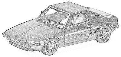 Fiat X 1/9 (1972-89)