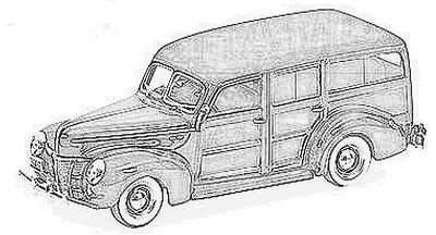 Ford De Luxe (1941-48)