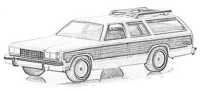 Ford LTD (1964-86)