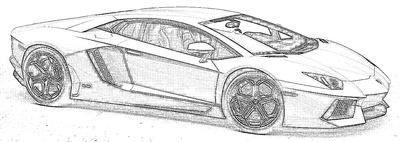 Lambo Aventador