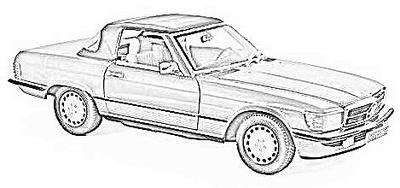 MB SL R107 (1972-89)