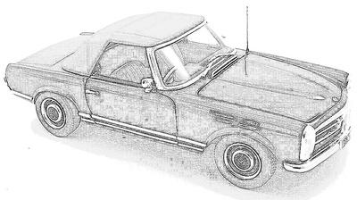 MB SL W113 (1963-71)
