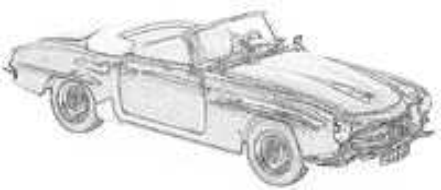 MB SL W198-W121 (1954-63)