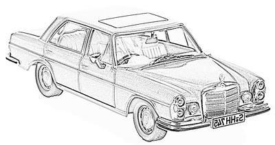 MB -W109- 300 SEL (1968-72)