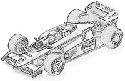 Minardi (1987) M187