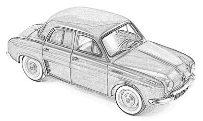 Renault Dauphine / Gordini