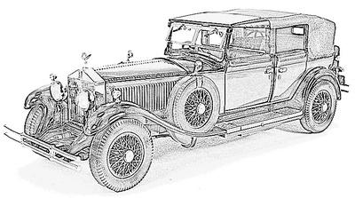 Rolls Royce Phantom serie 1 (1925-29)