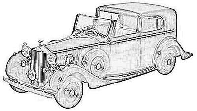 Rolls Royce Phantom serie 3 (1936-1939)