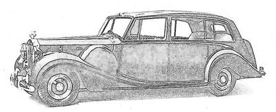 Rolls Royce Phantom serie 4 (1950-56)