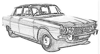 Rover P6 (1963-77)