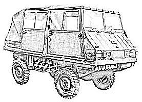 Steyr-Puch Haflinger (1959-75)